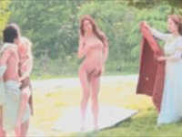 世界的な名画『ヴィーナスの誕生』を再現してそのままヴィーナスと野外セックス!