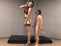 身長182cmの高身長痴女に馬鹿にされるチビM男くんの惨めなセックス
