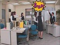 時間を止めるストップウォッチを手に入れた男がオフィスを支配してOLたちをレイプ