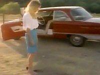 運転中、大嫌いな虫が車の中に入ってきて大惨事になった美女