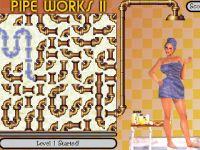 Pipe Works 2 水道管パズルのエロフラゲーム