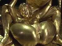 金粉まみれの上原亜衣とセックス