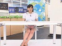 地方TV局の元女子アナがニュース解説中に大量脱糞してる...