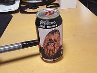 チューバッカの鳴き声がする不思議なコーラ缶がジワジワくる...