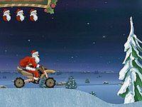 Santa Rider サンタクロースがバイクで奔走するゲーム
