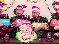 ビール瓶で奏でるクリスマスソング(Winter Wonderland)