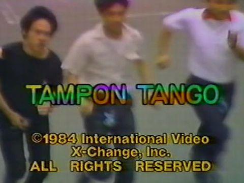 1984年に作られた伝説の裏ビデオ『タンポン タンゴ』の内容がブッ飛びすぎてるwww