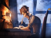 【3DCGアニメ】スランプに陥った小説家「Sang d' Encre」