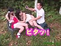 公園でセレブな親子がピクニックしてたから時間を止めて親子丼レイプ