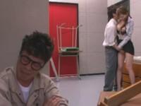 性に不慣れな男子生徒をレクチャーするセックスマスター大島