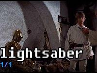 【スターウォーズ】ライトセイバーという単語は1度しか登場していない!?EP4の全セリフを単語でまとめてみた
