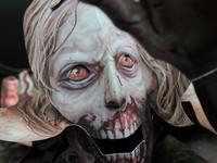飛び出す絵本もリアルなクオリティ「The Walking Dead」