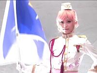 マクロス⊿放送記念!銀河の歌姫の尻コキとパイズリで発射してみよう!