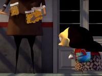 【3DCGアニメ】列車に乗り遅れてしまうおばさん「ダーミおばさんのパンノキのお菓子」