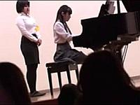 ピアノ発表会の出演者の女子校生に痴漢して出演後に中出しレイプしたった