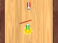 消しゴム落とし 相手の消しゴムを弾き落とすゲーム