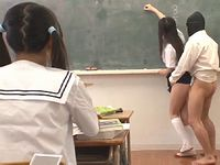 セックスが日常に溶け込むマジキチワールドでの学園生活をご覧くださいwww