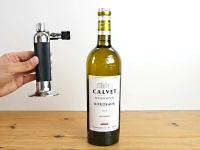 ワインボトルのコルクを火を使って開ける方法