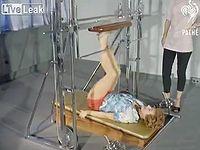 1961年のアメリカで使用されていたトレーニング器具がこちら