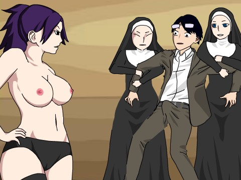 Secret Society シスター3人と乱交するエロフラッシュ