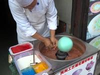 綿菓子アート!中国で実演販売してくれる綿菓子が凄い