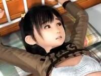 【3DCGアニメ】監禁拉致された少女がオッサンにSM調教される生活