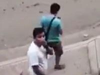 犯行後、防犯カメラに気づいたスリ男がとった行動