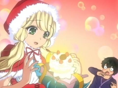 【アニメ】「クリスマスの夜、サンタさんとラブラブお家デートできますように...!」巨乳サンタ「受理されました」www
