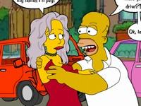 Homer's Happy Chance シンプソンズのホーマーが体で賠償請求するエロフラッシュ