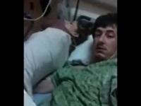 入院中なのに病室で彼女とハメ撮りしちゃうタフガイ