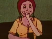 【アニメ】アメリカの古き良き時代に作られたであろう古のポルノアニメ