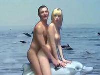 イルカに乗ってセックスしながら熱唱する男のミュージックビデオがシュールすぎるwww