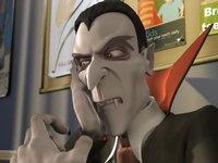 【アニメ】ドラキュラ伯爵が虫歯に困って歯科医院に来た結果...