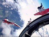 【VR】ジェット戦闘機「F-5」に乗って上空をグルングルン旋回!