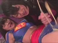 ふたなりのヒロイン『スーパーレディ』が敗北!ふたなりの敵に犯される!
