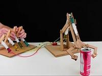 100円ショップの商品だけでも可能!油圧駆動ロボットアームの作り方!