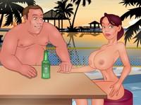 BDSM Resort リゾート地で女性を酔わせてSMプレイするエロフラッシュ