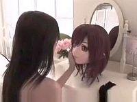闇深オナニー......着ぐるみスーツを着てオナニーする女の子