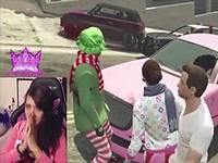 女性ゲーマーがオンラインゲームでレイプされている映像がカオスすぎるwww