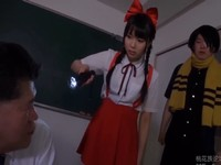 学校に出ると噂の妖怪を退治するドSな小便娘