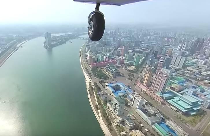 【VR】北朝鮮の首都平壌を上空から360度カメラで撮影してみたよ!