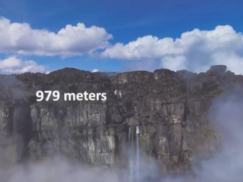【VR】絶景!世界最大級の滝「エンジェルフォール」をご覧ください
