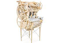 壮大すぎる手作り自動演奏楽器「Wintergatan Marble Machine」の奏でる音を楽しもう!