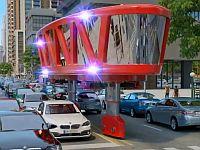 渋滞でも目的地へ直ぐに到着!これが未来の消防車......だったら凄いな