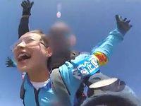 AV女優の波木はるかがスカイダイビングの直後に即ズボセックス撮影に強制参加www