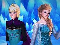 Elsa x Anna - Just Let It Go アナとエルサのレズエロフラッシュ