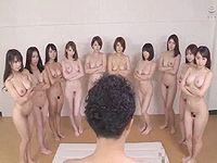 10人のAV女優と同時にセックスするAV男優 森林原人が凄すぎるwww