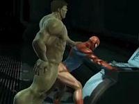 【3DCGゲイアニメ】人知れず育まれていたヒーローの強い愛