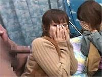キャー!ちんちんを見た素人娘達の反応コンピレーション