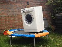 荒ぶり壊れるドラム式洗濯機くんたち